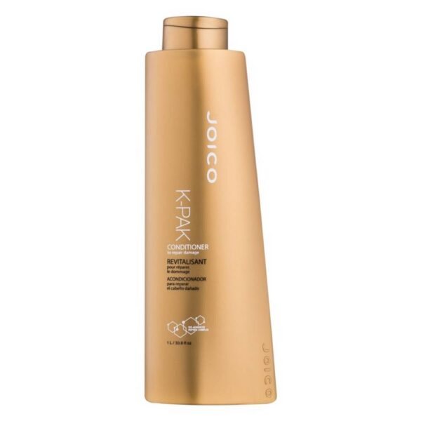 The Joico K-PAK K-PAK conditioner makes your hair easy to detangle and nourishes it, something all healthy, beautiful hair needs.