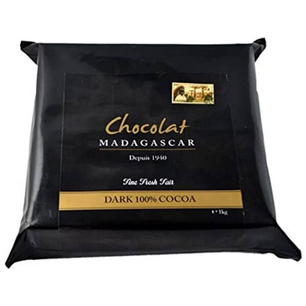 Freshly made from seeds to a tree with cocoa beans to chocolate in Madagascar. Delicate taste and aroma of wild berries from fine varieties of cocoa beans Criollo