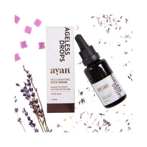 A rejuvenating skin serum with a very high concentration of natural ingredients for firmer and softer skin.