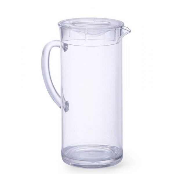 The jug with an ice insert from HENDI with an index of 425138 with a volume of 2 l and a diameter of 12 cm is made of acrylic