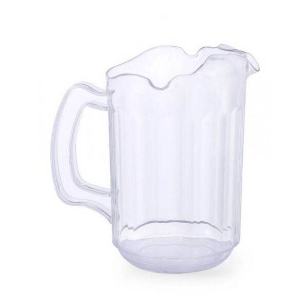 The jug from HENDI with an index of 567906 with a volume of 1.8 l and a diameter of 13.5 cm is made of transparent polycarbonate