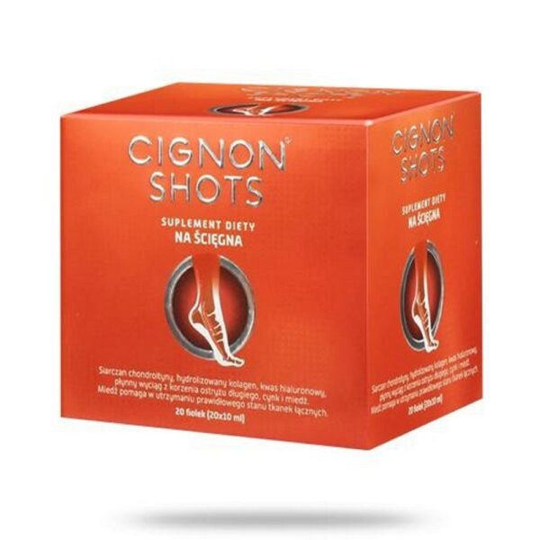 Cignon Shots is a unique combination of active ingredients