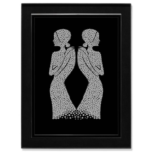 Crystal Art Picture Twins MBP-1
