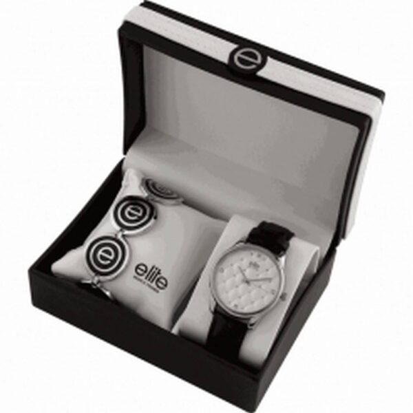 Elite Models Gift Set E54432-204. Consists of watch and bracelet