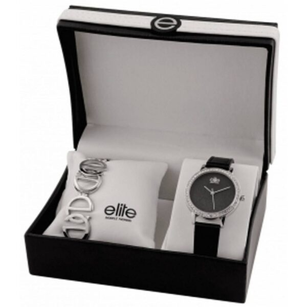 Elite Models Gift Set E55182-203. Consists of watch and bracelet