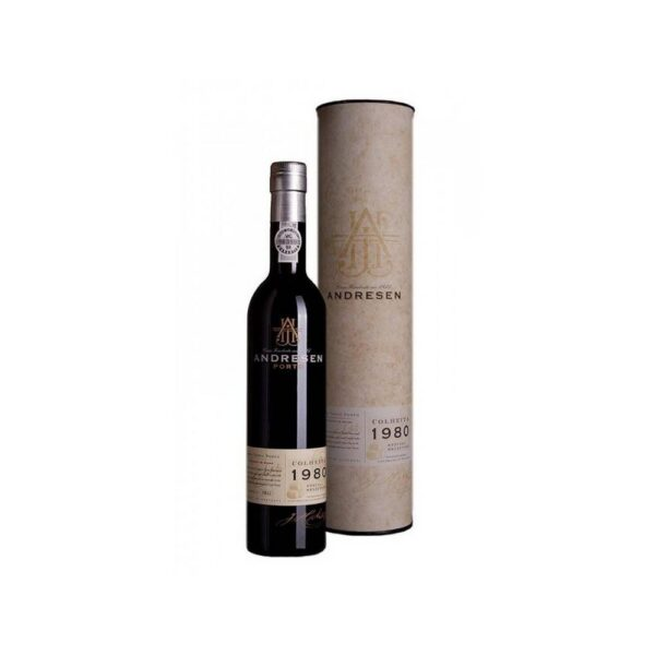 H. Andresen Colheita 1980 Port.Port type Tawny is an oxidized barricated red wine.Port wine is the ideal digestif at the end of any opulent dinner. It can also be used as an aperitif and dessert wine for chocolate desserts.