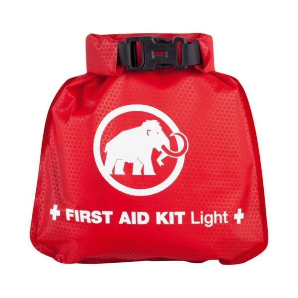 Equipped with a waterproof first aid kit from the Mammut company