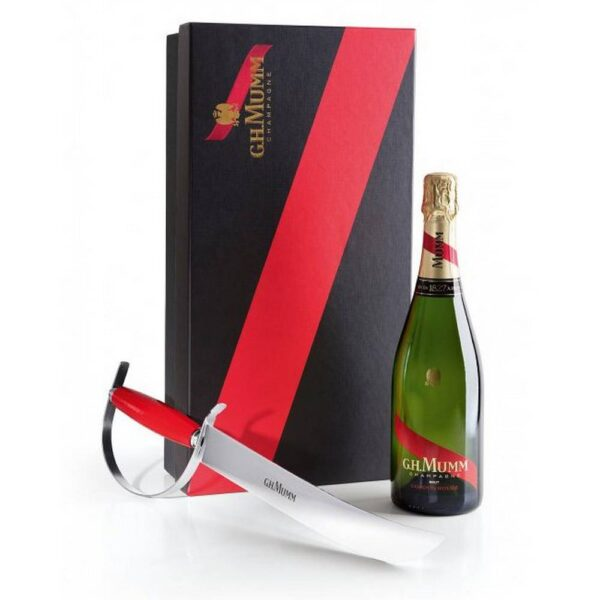 A royal discipline that requires three things - a bottle of good sparkling wine