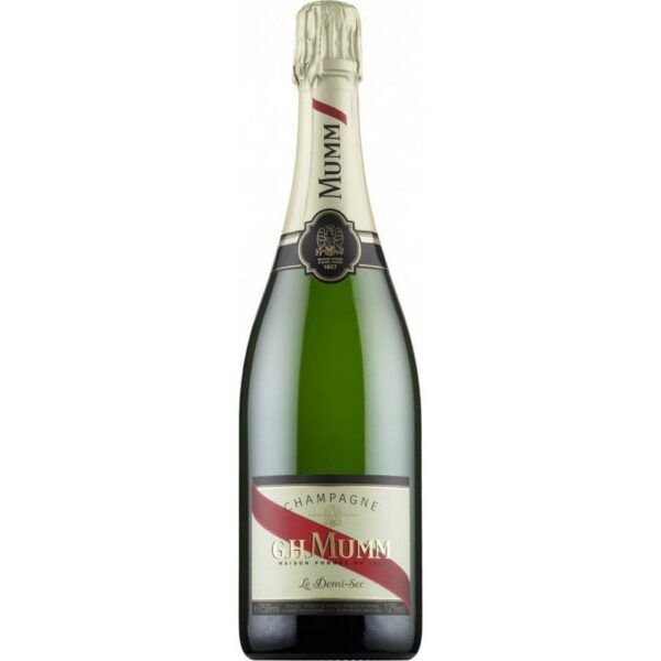 """""""en the best"""" is the motto of the Mumm champagne house"""