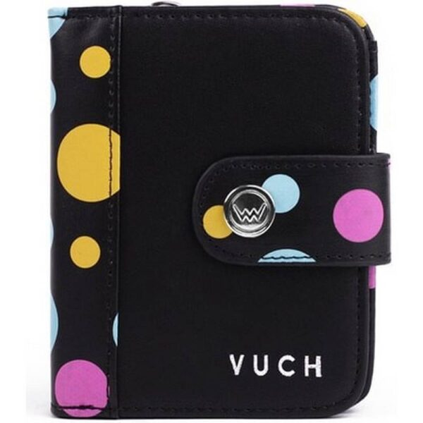 Women's black purse Vuch Leli Leonny. It can accommodate everything you need and it is beautifully compact and cute.