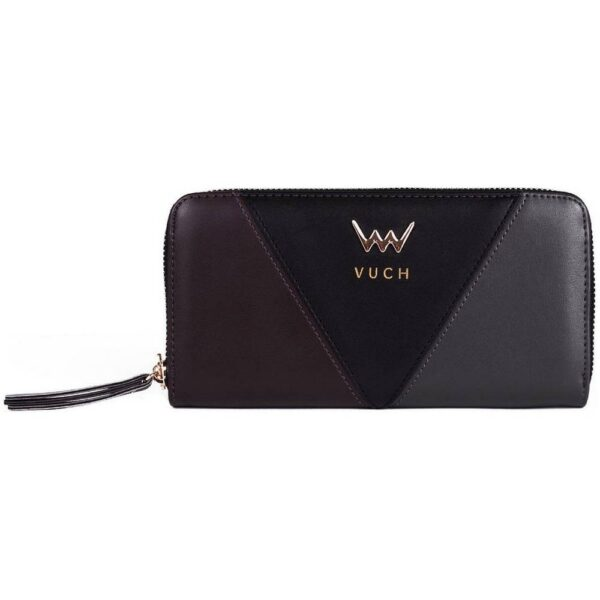 Women's purse black Vuch Victory. Made from high-quality synthetic leather.