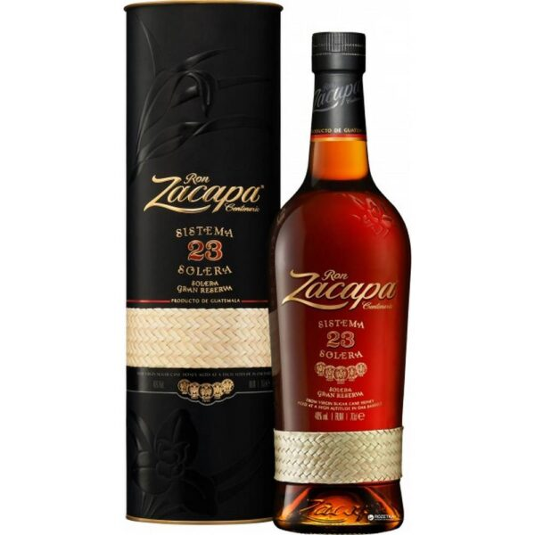 type Stunning special edition from Zacapa. This Guatemalan classic won gold at the International Rum Festival and in 2002 won the Platinum Award in the Super-Premium category. This is an incredible extra old rum that wins prizes anywhere.