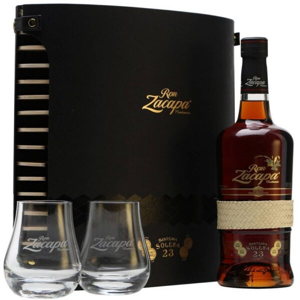 Made from the most carefully selected rums with an average age of 23 years