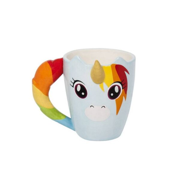 Do you like unicorns? This non-traditional unicorn ceramic mug is here just for you!