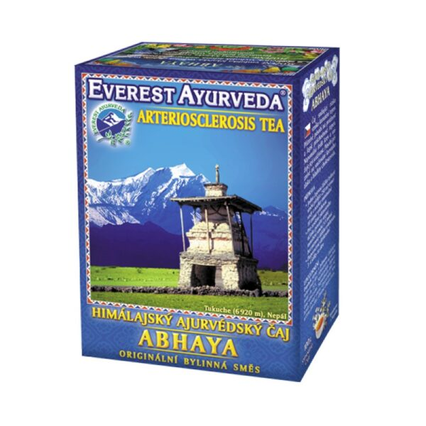 Loose Himalayan Ayurvedic tea for blood circulation and vascular elasticity. It is only a food supplement. Not intended for children and pregnant women.