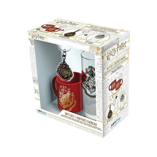 This nice gift set will delight all fans of Harry Potter stories from the School of Witchcraft and Wizardry in Hogwarts.