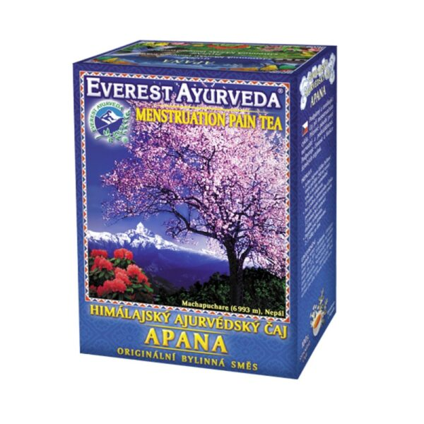 Loose Himalayan Ayurvedic tea for menstrual cycles. It is only a food supplement. Not intended for children and pregnant women.