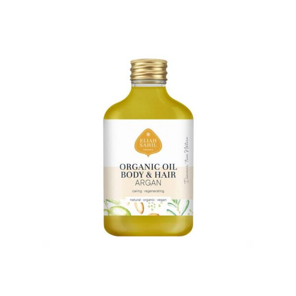 Argan body oil maintains its hydration and elasticity