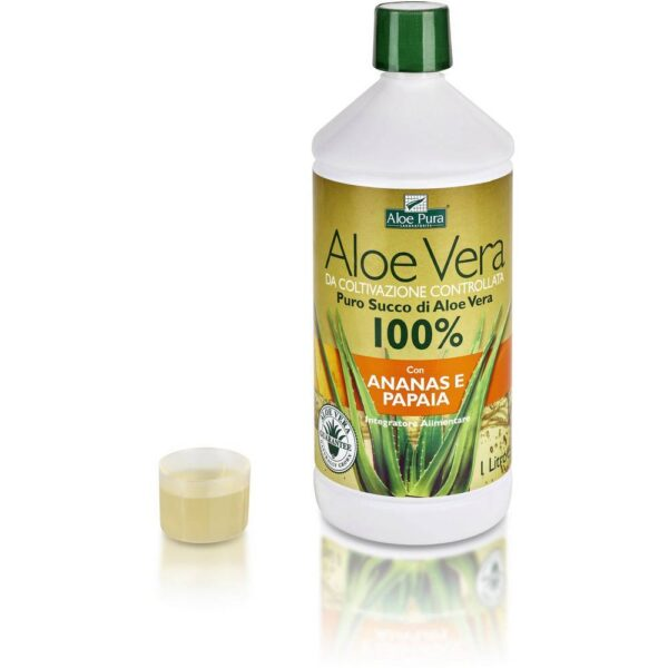 Optima Naturals has introduced a pure natural product to the market. It is 100% pure aloe vera juice from a controlled cultivation.