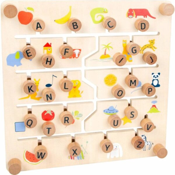 Small Foot by Legler educational table English alphabet and numbers