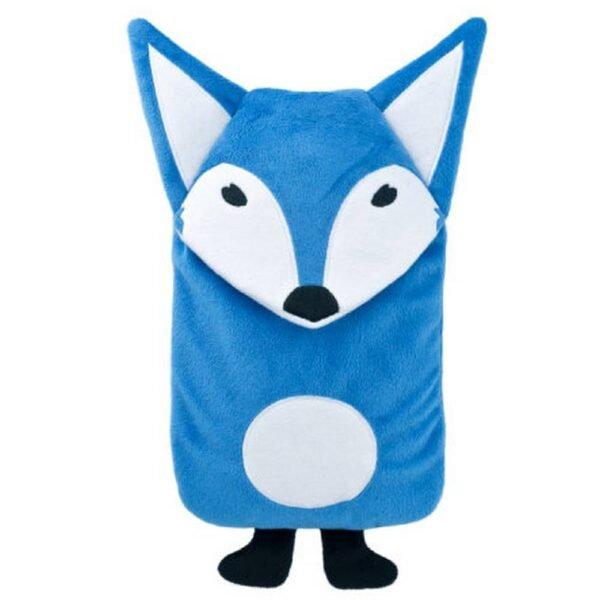 """Наша грелка """"Мистер Фокс"""" станет самой сладкой игрушкой в детской кроватке. Наш термофор «Мистер Лисица» с покрытием из бархатистой мягкой замши поднимет настроение и согреет зимними вечерами."""