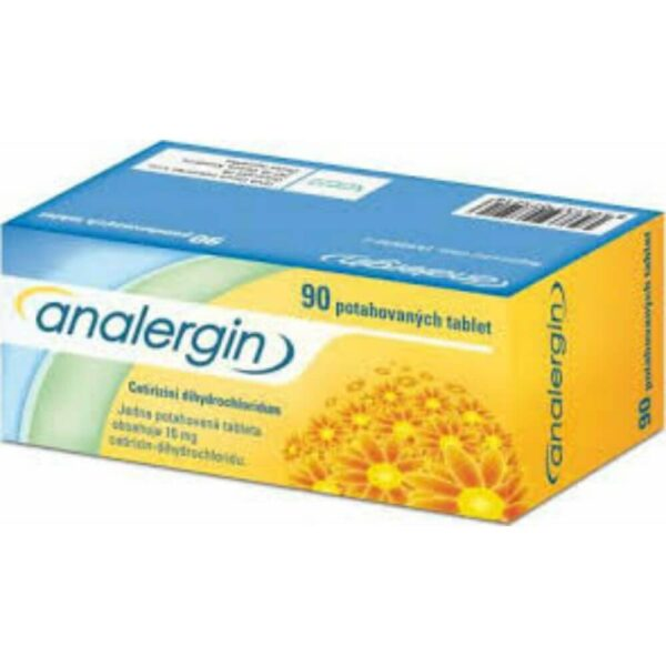 Analergin is indicated for the treatment of seasonal and perennial allergic rhinitis, allergic conjunctivitis, pruritus and urticaria.