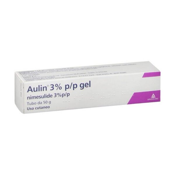 Aulin Gel provides symptomatic relief of pain associated with acute traumatic sprains and tendinitis.