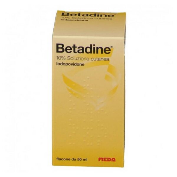 Betadine Cutaneous Solution is used in the disinfection and cleaning of damaged skin