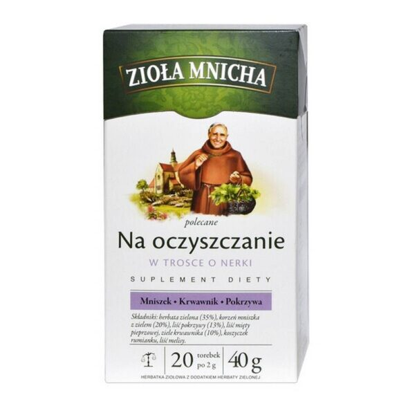 Big-Active Herbs Mnicha for cleansing Herbal tea, express (20 bags).