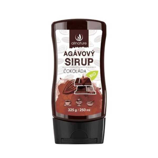 The combination of cocoa, agave syrup and vanilla will give the perfect taste to your coffee, ice cream and pancakes.