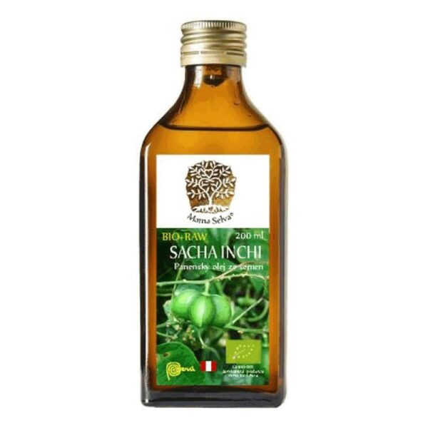 Oil from SACHA INCHI (Plukenetia volubilis) is a climbing plant native to the South American Amazon.