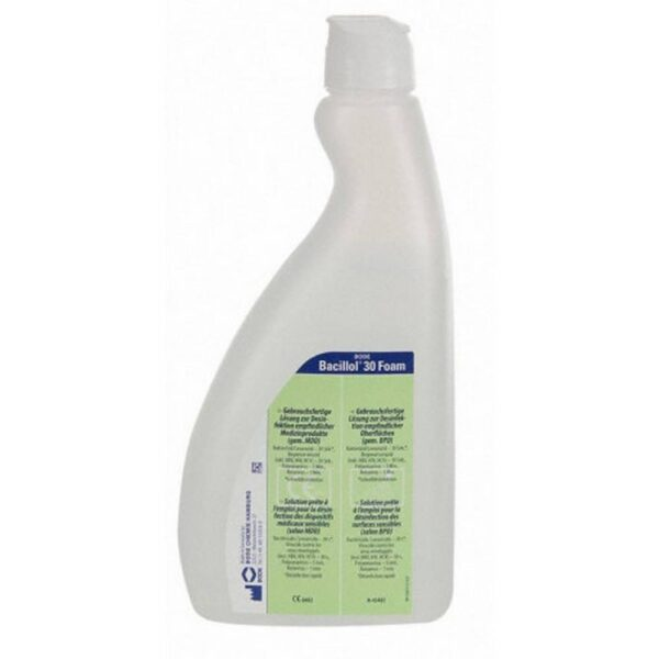 Fast disinfectant for the disinfection of sensitive surfaces.