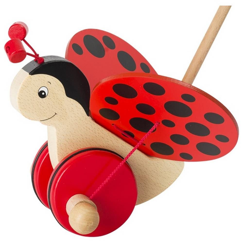 Goki Ladybug pet on a stick