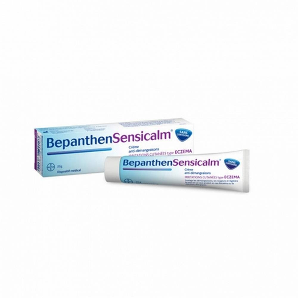 Bepanthensensicalm Anti-Itch Cream Bayer Eczema is a medicine designed to treat eczema or allergic reactions to relieve irritation, redness and regeneration of the skin.