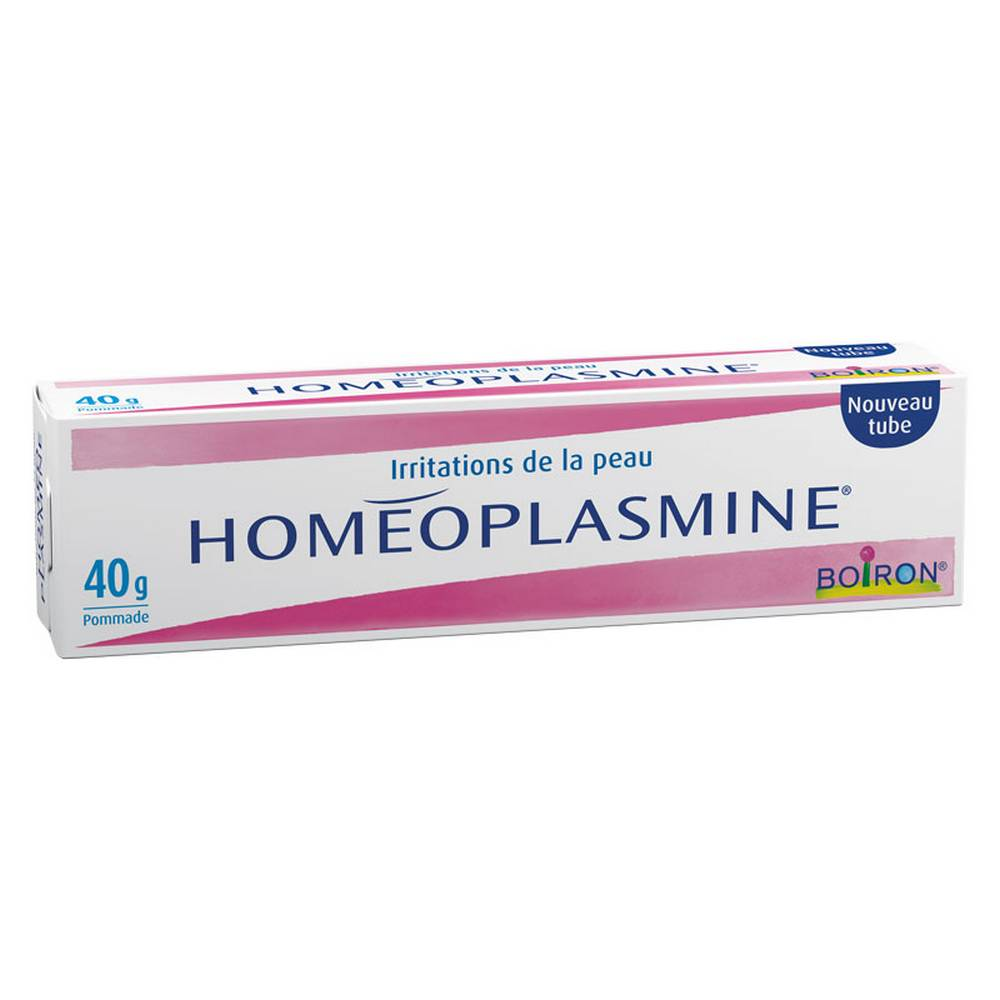 Homéoplasmine 40 GR ointment is a homeopathic medicine traditionally used in the adjunctive therapy of skin irritation.