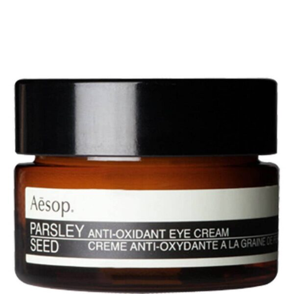 The delicate eye area needs extra care, which is why Aesop Parsley Seed Anti-Oxidant Eye Cream was specially formulated with this in mind.