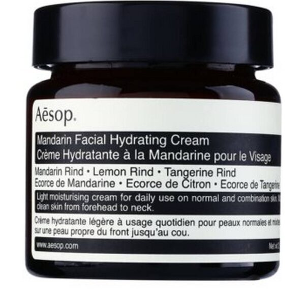 Aēsop Skin Mandarin Face Cream gives your face the daily care it truly deserves.