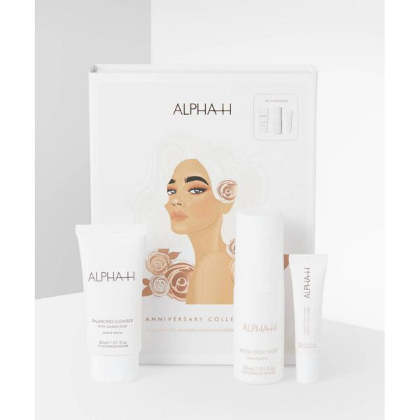 A set of three limited edition facial treatments.
