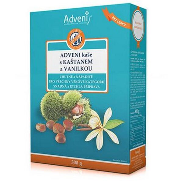 Extraordinary qualities of chestnut sown in combination with a warm and soothing taste and aroma of vanilla.