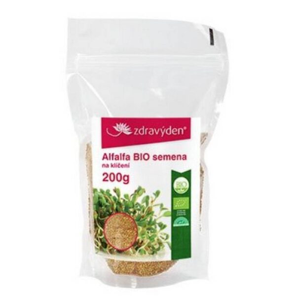 Alfalfa excels in the content of nutrients - amino acids