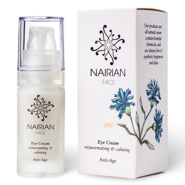 This cream has absorbed all the necessary forces of nature to rejuvenate and soothe the delicate and aging skin around the eyes